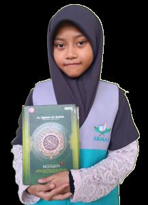 PENCAPAIAN TERBAIK 2019 Adik Alliyyah binti Haironnizam HAFIZAH DALAM TEMPOH 5 BULAN 11 HARI
